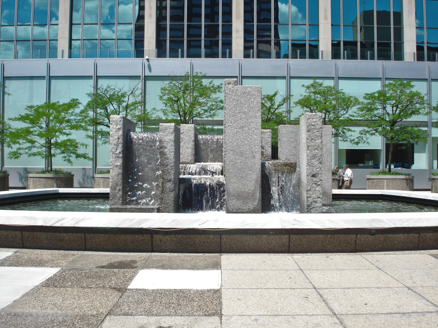 commercial water features